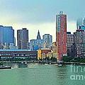 New York City Landscape by Judy Palkimas