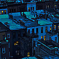 New York City Nightfall by David Berg