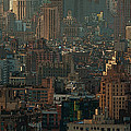 New York City Posterized by Lindley Johnson