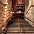New York City Public Library by David Bearden