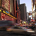 New York City Rush by Donna Blackhall