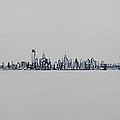 New York City Skyline 15x45-1 by Jack Diamond