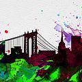New York City Skyline 2 by Naxart Studio