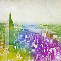 New York City Skyline by Aged Pixel