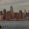 New York City Skyline Panoramic by Susan Candelario