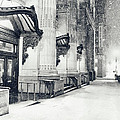 New York City - Snowy Winter Night by Vivienne Gucwa