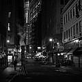 New York City Street - Night by Vivienne Gucwa