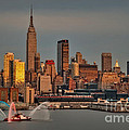 New York City Sundown On The 4th by Susan Candelario