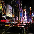 New York City - Times Square 002 by Lance Vaughn