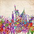 New York City Tribute 2 by Bekim Art