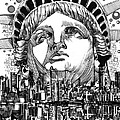 New York City Tribute by Bekim Art