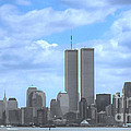 New York City Twin Towers Glory - 9/11 by Tap On Photo