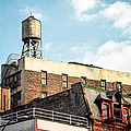 New York City Water Tower 2 by Gary Heller