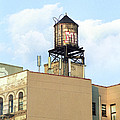 New York City Water Tower 4 - Urban Scenes by Gary Heller