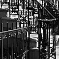 New York City Wrought Iron by Rona Black