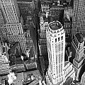 New York Financial District  by Underwood Archives