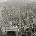 New York From The Trade Towers by Shaun Higson