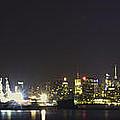 New York Harbor by Theodore Jones