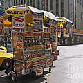 New York Hotdog Stand by Zbigniew Krol