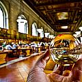 New York In My Hand - Public Library by Amador Esquiu Marques