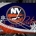 New York Islanders Christmas by Joe Hamilton