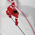 New York Islanders V Detroit Red Wings by Dave Reginek