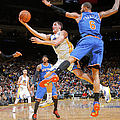 New York Knicks V Golden State Warriors by Rocky Widner