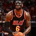 New York Knicks Vs Miami Heat by Issac Baldizon