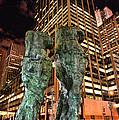 New York - Looking Toward The Avenue by Paul Ward