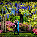 New York Lovers In Springtime by Chris Lord