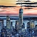 New York - Manhattan Landscape by Marianna Mills