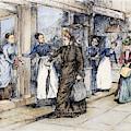 New York Milliner, 1889 by Granger