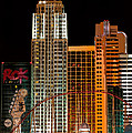 New York-new York Hotel Las Vegas - Pop Art Style by Ian Monk