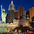 New York New York Las Vegas by Clint Buhler