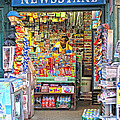 New York Newsstand by Dave Mills