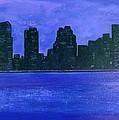 New York Night by Linda Wimberly