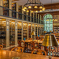 New York Public Library Genealogy Room I by Clarence Holmes