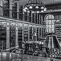 New York Public Library Genealogy Room II by Clarence Holmes