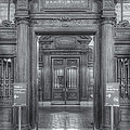 New York Public Library Main Reading Room Entrance II by Clarence Holmes