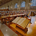 New York Public Library Rose Main Reading Room  by Susan Candelario