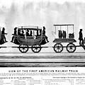 New York Railroad, 1832 by Granger