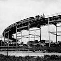 New York Railroad Bridge by Granger