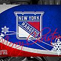 New York Rangers Christmas by Joe Hamilton