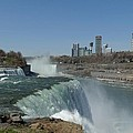New York Side Of Niagara Falls by Gothicrow Images