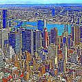 New York Skyline 20130430 by Wingsdomain Art and Photography