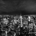 New York Skyline 3bw by Matt Malloy