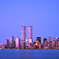 New York Skyline Before 11th September by Alex Bartel/science Photo Library