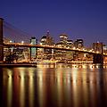 New York Skyline by Brian Jannsen