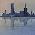 New York Skyline  by Donna Walsh
