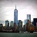 New York Skyline by Jennifer Evans
